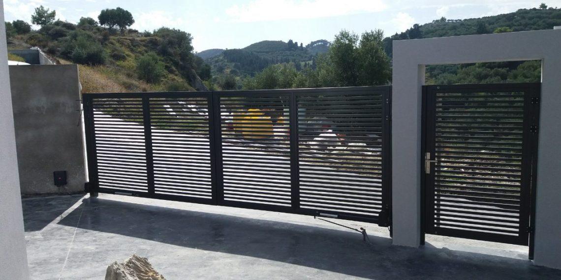 rapsomanikis glass - aluminum fencing