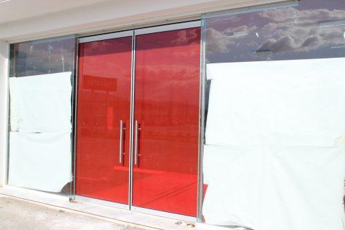 rapsomanikis glass - manual sliding