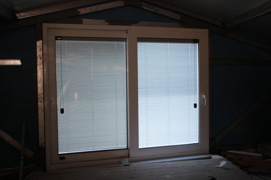 integraded blinds